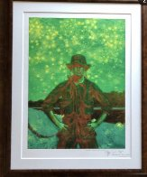 Night Vision HS Limited Edition Print by Jamie Wyeth - 2