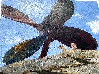 Wreck of Polias 2002 Limited Edition Print by Jamie Wyeth - 2