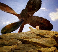 Wreck of Polias 2002 Limited Edition Print by Jamie Wyeth - 0