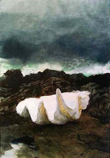 Giant Clam HS Limited Edition Print by Jamie Wyeth