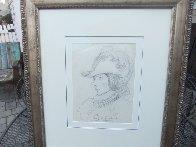 Cyrano Drawing 1902 HS 20x17 Drawing by N.C. Wyeth - 1
