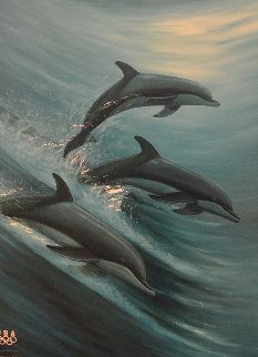 Faster, Higher, Stronger 2007 Limited Edition Print by Robert Wyland