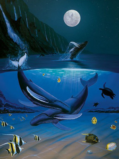 Ocean Passion 2011 Limited Edition Print by Robert Wyland