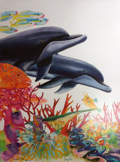 Sea of Color    2005 Limited Edition Print by Robert Wyland
