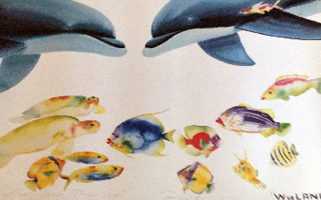 Who Invited Theses Guys? 1992 Limited Edition Print by Robert Wyland