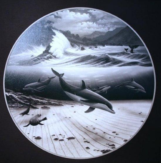 Undersea World 2007 Limited Edition Print by Robert Wyland