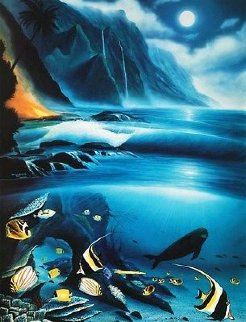 Hawaii Born in Paradise 1994 Limited Edition Print - Robert Wyland