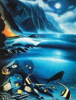 Hawaii Born in Paradise 1994 Limited Edition Print - Robert Wyland