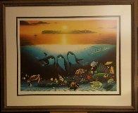Sunset Celebration 1997 Limited Edition Print by Robert Wyland - 1