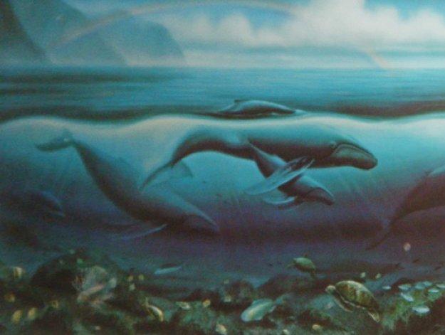 Hawaii (Triptych) 1993 Limited Edition Print by Robert Wyland