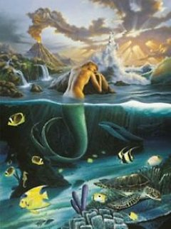 Mermaid Dreams Limited Edition Print - Robert Wyland