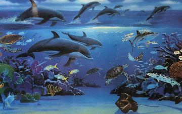 Ocean Paradise 2003 Limited Edition Print - Robert Wyland