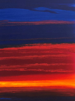 Warm Seas 2011 55x31 Original Painting by Robert Wyland
