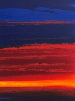 Warm Seas 2011 55x31  Huge Original Painting - Robert Wyland