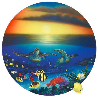 Sea Turtle Reef 2003 Limited Edition Print - Robert Wyland