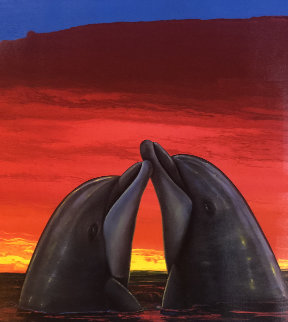 Sunset Romance 2005 Limited Edition Print - Robert Wyland