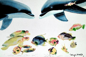 Who Invited These Guys? 1992 Limited Edition Print - Robert Wyland
