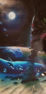 Island Paradise 1996 Limited Edition Print - Robert Wyland