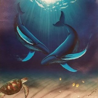 In the Company of Whales 2000 Limited Edition Print - Robert Wyland