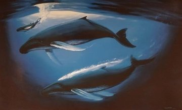A Sea of Life 2013 Limited Edition Print by Robert Wyland