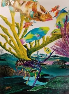 Coral Reef Life 2013 Limited Edition Print by Robert Wyland