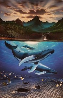 Dawn of Creation 2013 Limited Edition Print by Robert Wyland