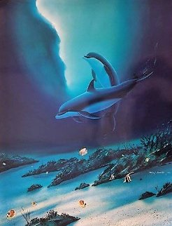 Ocean Children 2013 Limited Edition Print by Robert Wyland