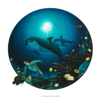 Undersea Life 2000 Limited Edition Print by Robert Wyland