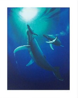 Ocean Born 1996 Limited Edition Print by Robert Wyland