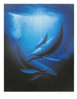 Art of Saving Whales 1989 Limited Edition Print by Robert Wyland
