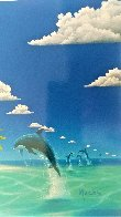 Dreaming of Paradise Colaboration With Dan Mackin 2000 Limited Edition Print by Robert Wyland - 3
