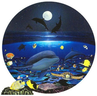 Moonlight Celebration 2004 Limited Edition Print by Robert Wyland
