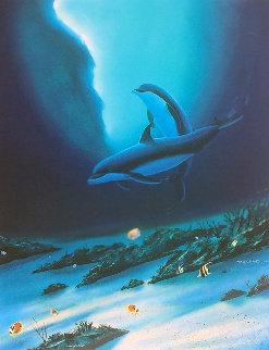 Ocean Children 2002 Limited Edition Print - Robert Wyland