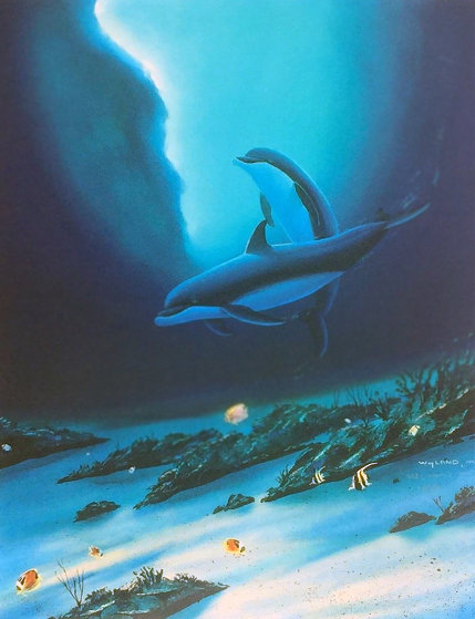 Ocean Children 2002 Limited Edition Print by Robert Wyland