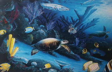 Living Reef 1991 Limited Edition Print by Robert Wyland