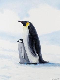 Antarctic Penguins Limited Edition Print - Robert Wyland