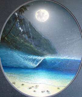 Moonlight Paradise AP 2002 Limited Edition Print by Robert Wyland