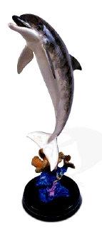 Dolphin Dream Bronze Sculpture AP 1999 31 in Sculpture by Robert Wyland