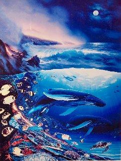 Kauai Moon Limited Edition Print by Robert Wyland
