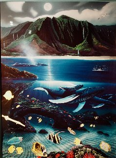 Hanalei Bay Limited Edition Print by Robert Wyland