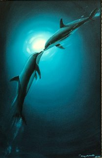 Celebration 2005 36x24 Original Painting - Robert Wyland