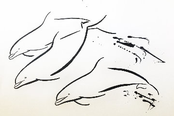 Untitled (Dolphins) AP 1990 Limited Edition Print - Robert Wyland