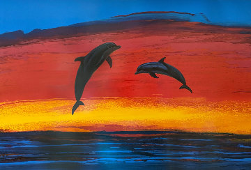 Sunset Paradise 2005 Limited Edition Print by Robert Wyland