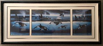Northern Mist 73x33 Super Huge  Limited Edition Print - Robert Wyland
