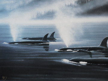Orca Realm AP Limited Edition Print by Robert Wyland