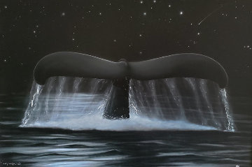 Reach For the Stars 2002 Limited Edition Print by Robert Wyland