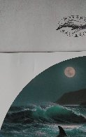 Dolphin Moon 1992 Limited Edition Print by Robert Wyland - 3