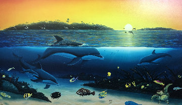 Warm Tropical Waters 2002 Limited Edition Print by Robert Wyland