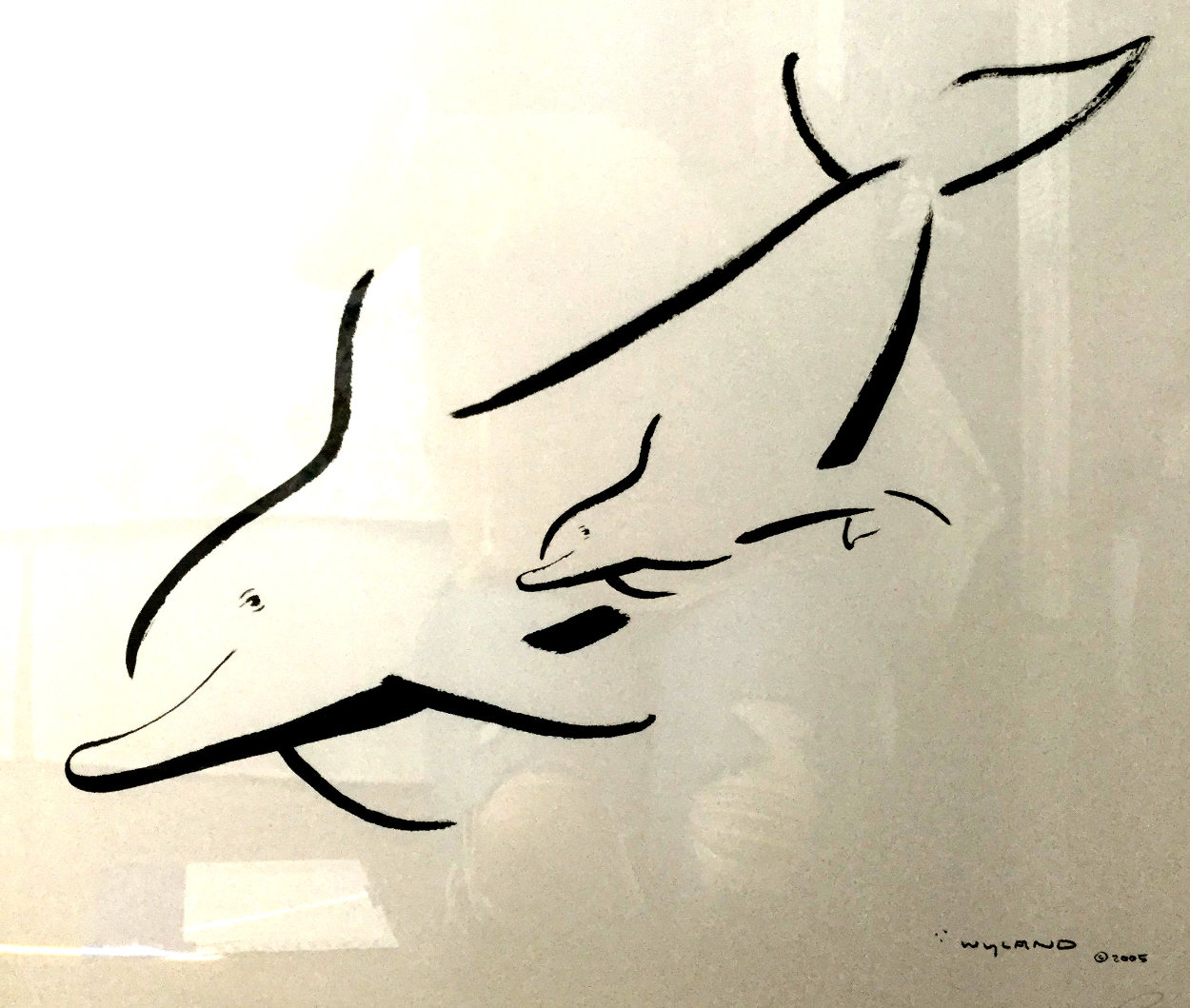 New Born (Whale) 2005  Limited Edition Print by Robert Wyland