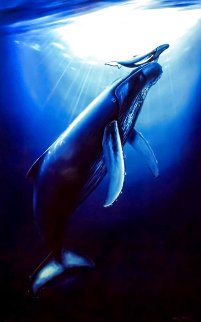 First Breath 1994 Limited Edition Print - Robert Wyland